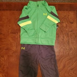 12mo under armour track suit